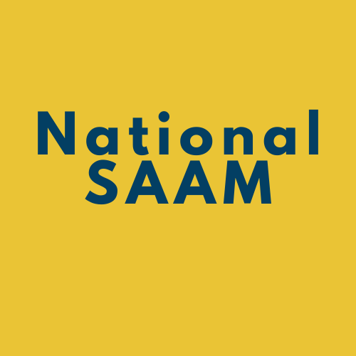 "Yellow box that says ""National SAAM"""